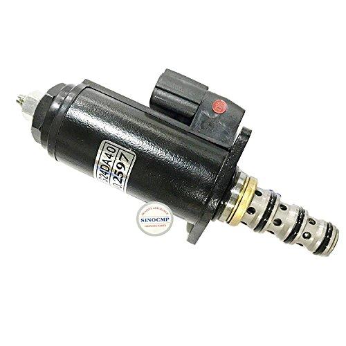 3 Month Warranty Red Point - SINOCMP Hydraulic Pump Solenoids for Kobelco SK330-6E Excavator Parts Solenoid Valve KWE5K-31//G24DA40 YN35V00020F1