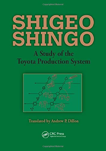 A Study of the Toyota Production System: From an Industrial Engineering Viewpoint (Produce What Is Needed, When It's Nee