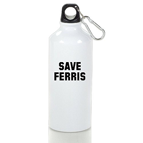 ZhiqianDF Women's Save Ferris Funny Jogging White Drink Bottle Aluminum With - Perfect To The Find How Sunglasses