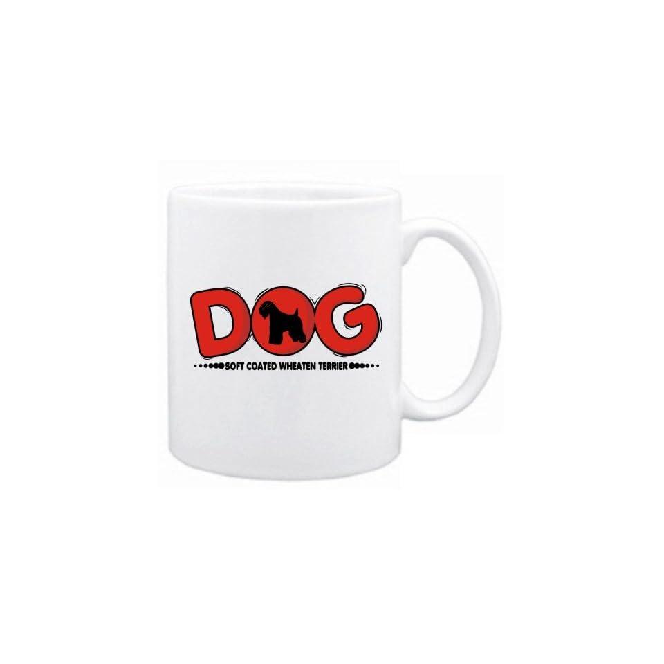 New  Soft Coated Wheaten Terrier / Silhouette   Dog  Mug
