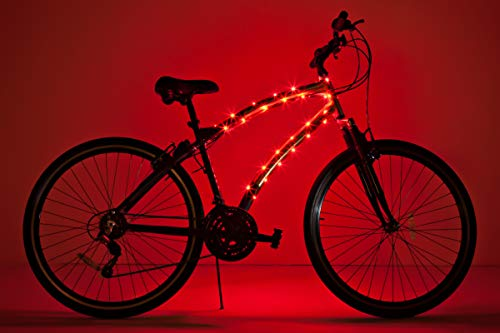 (Brightz CosmicBrightz LED Bicycle Frame Light, Red)
