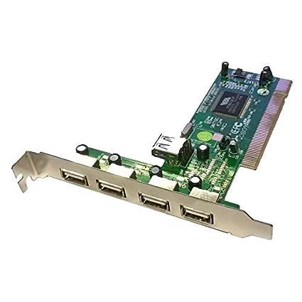Advance Adaptador Tarjeta PCI 4 + 1 Puertos USB simt10 C 480 ...