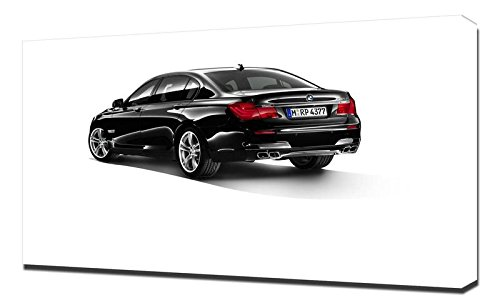 Lilarama USA Bmw 740D 2010 Interior 3 - Canvas Art Print - Wall Art - Canvas Wrap