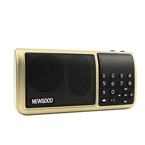 NEWGOOD Portable Personal Speaker Kitchen product image