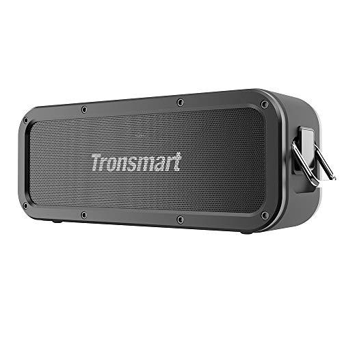 Altavoz Bluetooth Potente, Tronsmart Force 40W Altavoz inalámbrico Portátil, Waterproof IPX7, Efecto de Triple Bajo…