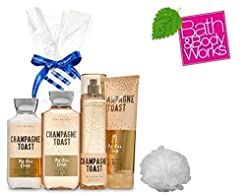Bath and Body Works CHAMPAGNE TOAST Gift...