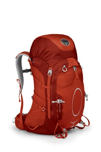 Osprey Packs Atmos 50 Backpack (Oxide Red, Large), Outdoor Stuffs