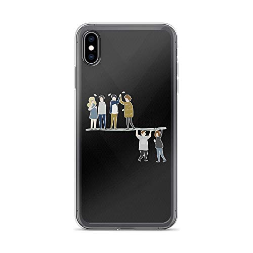 Logo President Series - iPhone Xs Max Pure Clear Case Cases Cover Stranger Things: The Acrobats and The Fleas TPU Solid Durable Polycarbonate Back Anti-Scratch Protection Compatible