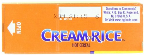 Cream of Rice, Hot Cereal, 14 Ounce (Pack of 12) by Cream of Rice (Image #5)