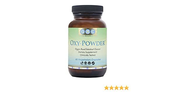 Oxy Powder 60 cápsulas