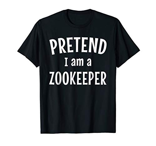(Funny Zookeeper Costume Shirt Easy Idea for)