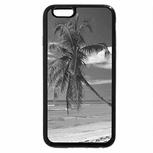 iPhone 6S Plus Case, iPhone 6 Plus Case (Black & White) - Anse Severe, La Digue