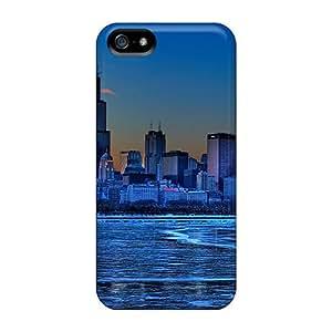 lintao diy New Tpu Hard Case Premium Iphone 5/5s Skin Case Cover(chicago)