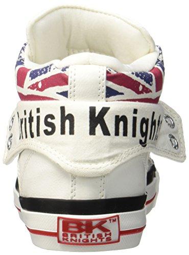 British Knights Roco Bk Trener Sneaker Bkc-3702-01 Britiske Flagg Weiß