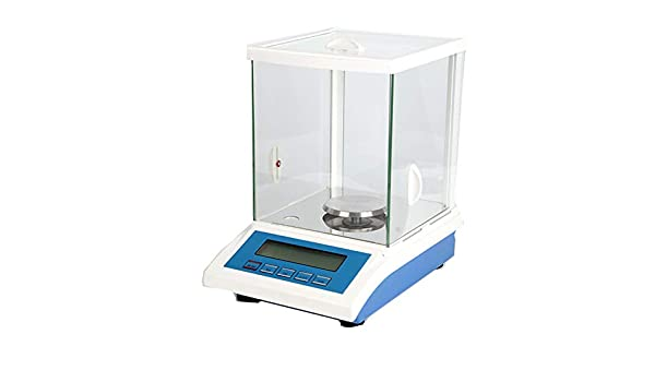 CGOLDENWALL - Báscula electrónica de precisión para laboratorio/joyas/medicamentos, 1 mg, tamaño de la sartén de pesaje: 80 mm de diámetro con sensor de calibre de tensión: Amazon.es: Bricolaje y herramientas