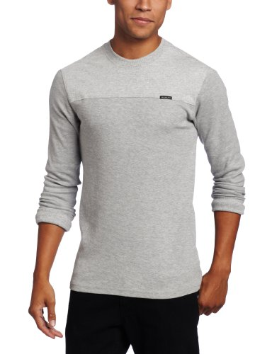 (Oakley Men's Mountain Drive Thermal, Light Heather Grey, Large)