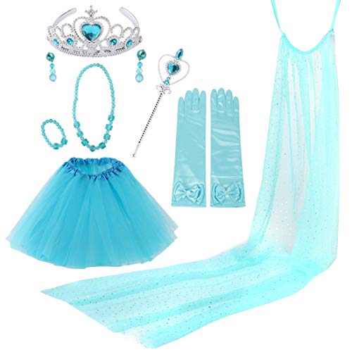 kilofly Princess Party Favor Jewelry Costume Set Girls