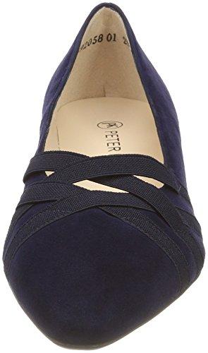 Cerrada De Suede Tacón Para Peter Zapatos notte Azul Kaiser Con Mujer 104 Punta Liesel twqnp0
