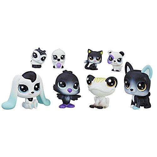 Littlest Pet Shop Black & White Pet Friends, Collection 1