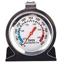 مقياس حرارة فرن ستانلس ستيل بقاعدة