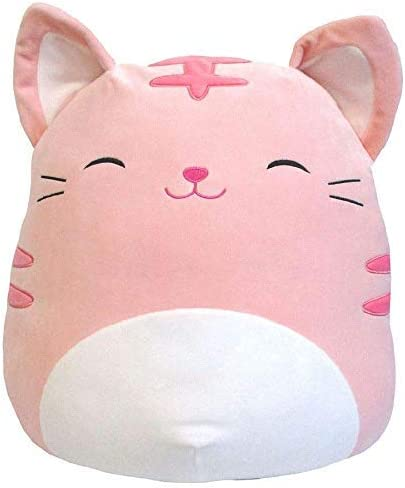 Squishmallows 16 Soft Plush Toy Pillow Cat Pink Paulita Stuffed Animal Gift Present