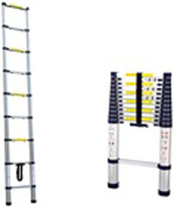 Herzberg hg-5380; Escalera telescópica (3.8 cm): Amazon.es: Bricolaje y herramientas