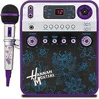 Cámara de video y karaoke Disney Hannah Montana - Púrpura (HM950KC)