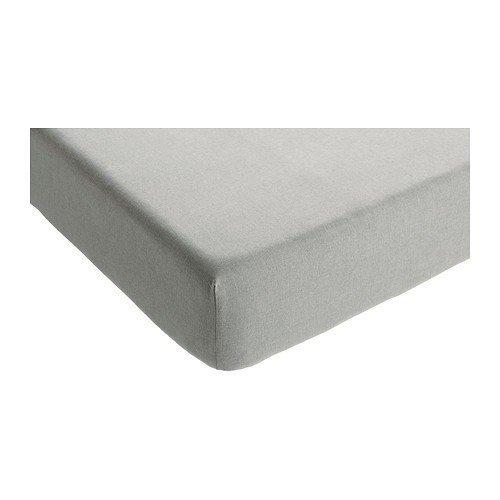 IKEA sömnig sábana bajera en colour gris; (180 x 200 cm): Amazon.es: Hogar