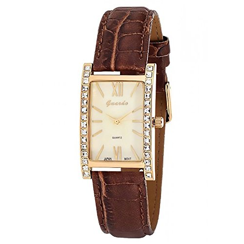 Cream Dial Brown Leather - 8
