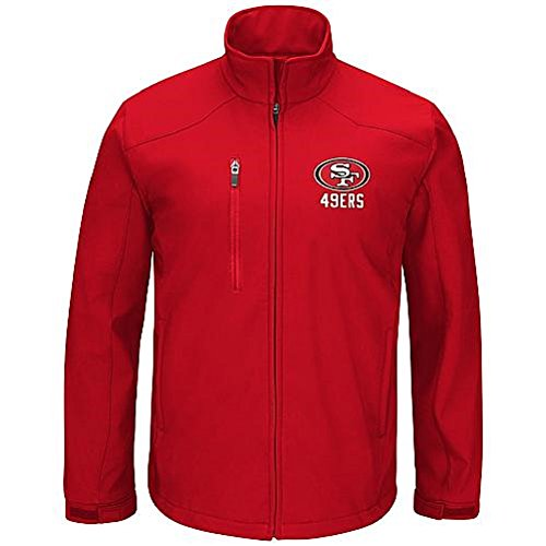 (FN Men's Soft Shell Jacket - San Francisco 49ers Size Medium)