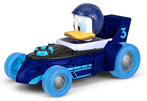 Fisher-Price Disney Mickey & the Roadster Racers, Donald's Hot Rod Supercharged (Donald Duck Car)