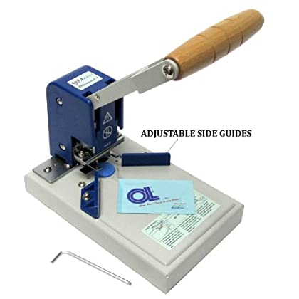 """Image of Akiles Diamond-1 Corner Rounding Equipment, 0.4″ Maximum Capacity, Carefully crafted with only the highest quality component, Waste Backset, Plastic Pads, Radius Alignment Guide, """"L"""" Guide"""