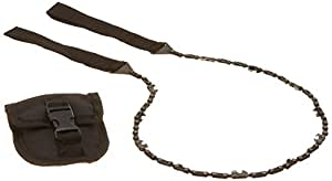 TaoTronics? TT-BBQ010 24 Inch Survival Pocket Hand Chain Saw With Pouch, Sharp Blade