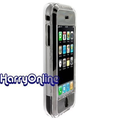 Polycarbonate Lcd (Clear Apple iPhone Premium Snap-On/Clip-on Hard Case/Cover/Skin/ with Removable Belt Clip - Crystal Clear)