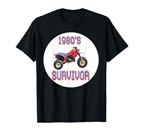- 80's Survivor Three Wheeler T-shirt .