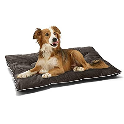 JOEJOY Dog Bed Crate Mat 30''/36''/42'' Anti-Slip Kennel Pad Washable Dog Cozy Mattress for Small Medium Large Dogs