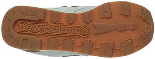 New Balance Mens 878 90s Running Restomod Fashion Sneaker Grigio / Bianco