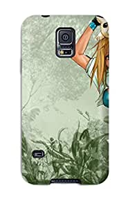 Hot Design Premium NSRAbbc2286BtUZR Tpu Case Cover Galaxy S5 Protection Case(anime Gallery )