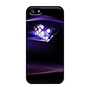 New Premium Cynthaskey Abstract Light Bokeh Skin Case Cover Excellent Fitted For Iphone 5/5s