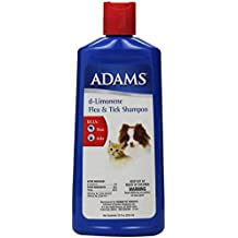 Adams d-Limonene Flea & Tick Shampoo for Cats and Dogs, 12 Oz (Discontinued by Manufacturer)