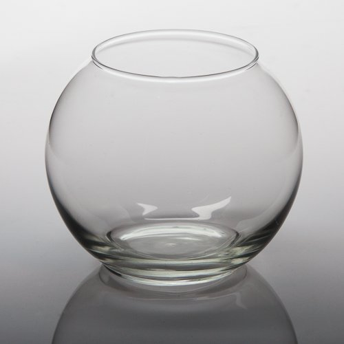 "Eastland Bubble Ball Vase 5.5"" Set of 12"