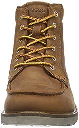 ECCO Men\'s Holbrok Moc Toe Chukka Boot, Amber, 41 EU/7-7.5 M US