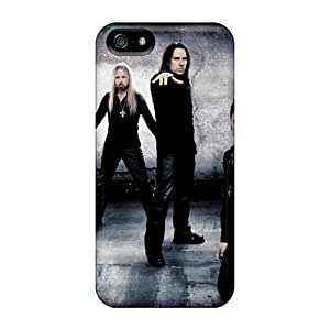 Great Hard Phone Cover For Iphone 5/5s (AsV19806ppLM) Unique Design Lifelike Kamelot Band Pictures