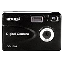 Argus 1.3 Mp Digital Camera 8MB Intmem Status LCD Dsplay 3 Aaas
