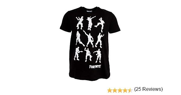Fortnite - Camiseta Infantil con Bailes (12/13 Años) (Negro ...