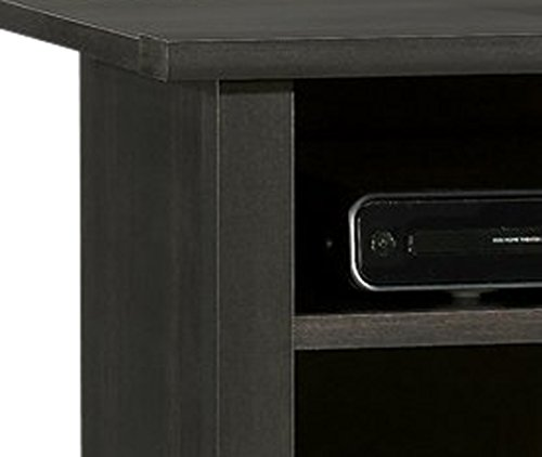 042666133036 - Sauder Edge Water Highboy TV Stand, Estate Black carousel main 1