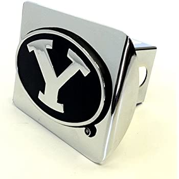 Arizona State University Sundevils Black and Chrome with Pitchfork Emblem Metal Trailer Hitch Cover Fits 2 Inch Auto Car Truck Receiver with NCAA College Sports Logo