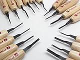 16 Flexcut Micro 60 V Shallow U Chisels Skews MT100 MT200 MT400 MT700