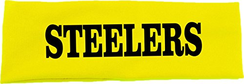 Steelers Cotton Stretch Headband at SteelerMania