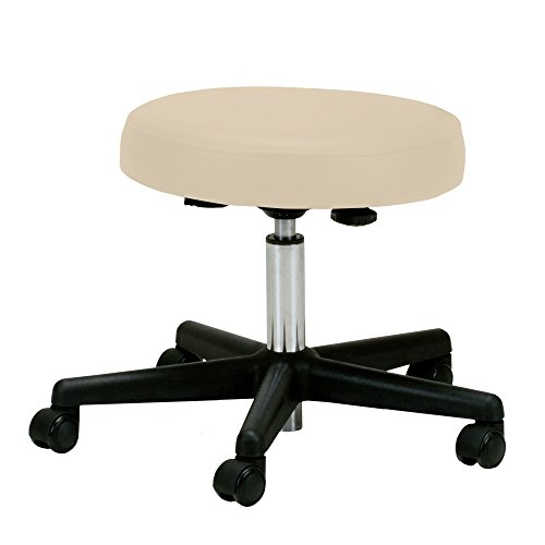 EARTHLITE Pneumatic Massage Therapist Stool - Adjustable, Rolling Massage Stool, No Leaking (vs....